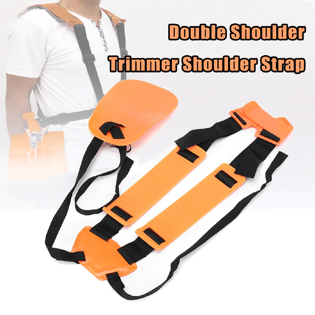 Arts,crafts & Sewing Nylon Convenient Trimmer Adjustable Double Shoulder Strap Mower M-shaped Belt For Brush Cutter Garden Belt Power Pruner Tools