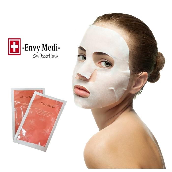 MALAYSIA: TOPENG MUKA ELAK PENUAAN/ Thin Mask Hydrating, Moisturizing, Brighten Skin Oil Control