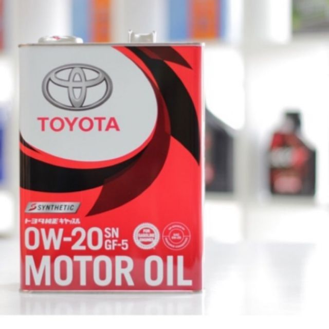 TOYOTA 0W20 High Performance Engine Oil 4 Liter