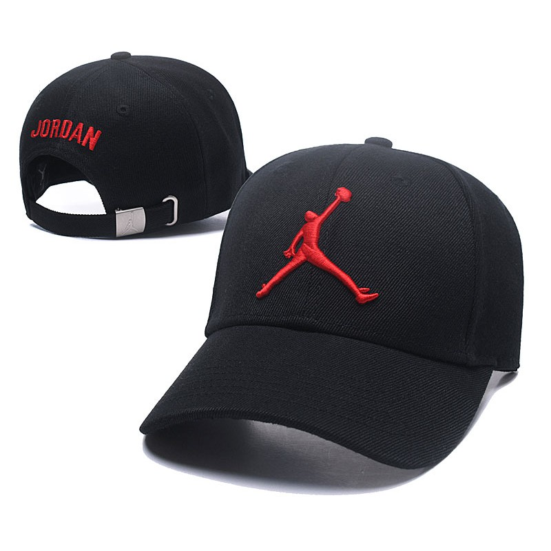 07838d43495 Nike Air Jordan Banned Men Women Snapback Cap with adjustable strap (Black  Red)