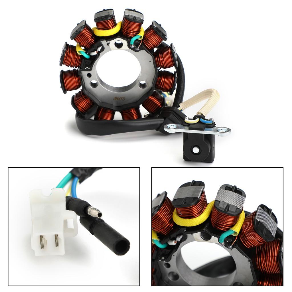 Areyourshop Stator Magneto Generador para H-O-N-D-A CBF125 CBF 125 2008-2015 Repl 31120-KWF-941