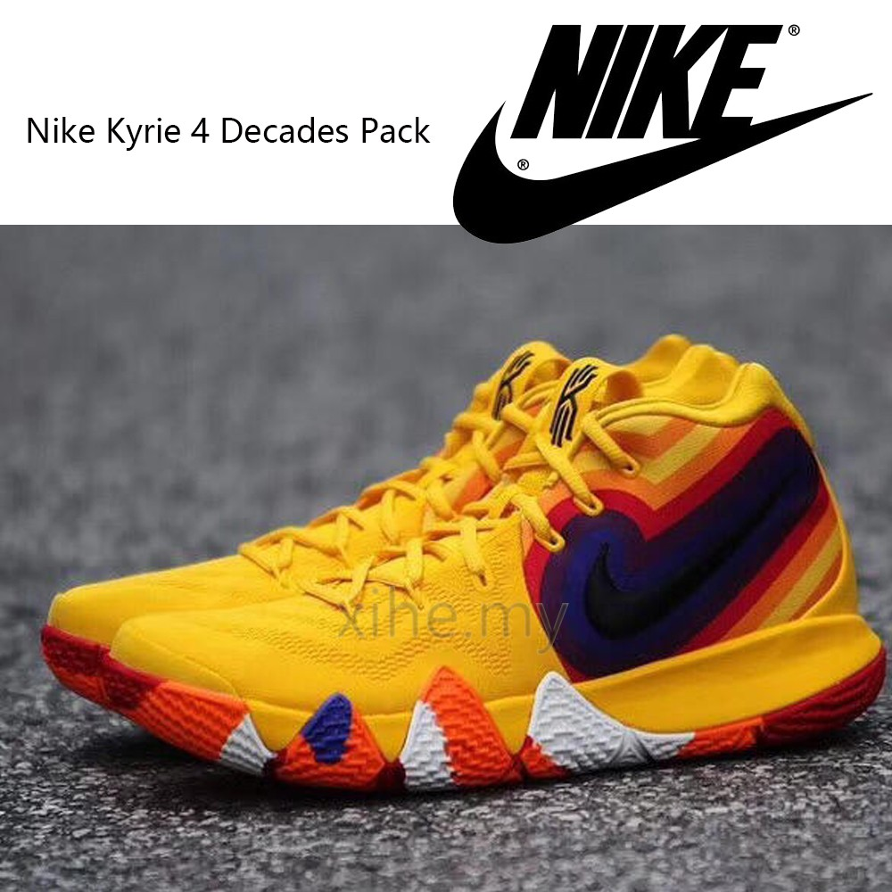huge selection of ce67e 62818 【READY STOCK】Nike Kyrie 4 Decades Pack 70 Running basketball shoes