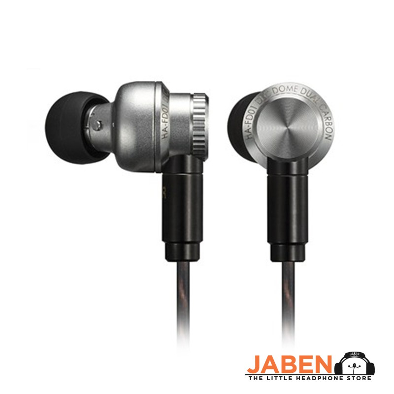 JVC HA-FD01 Flexible Wearing Style Hi-Res IEM Earphones