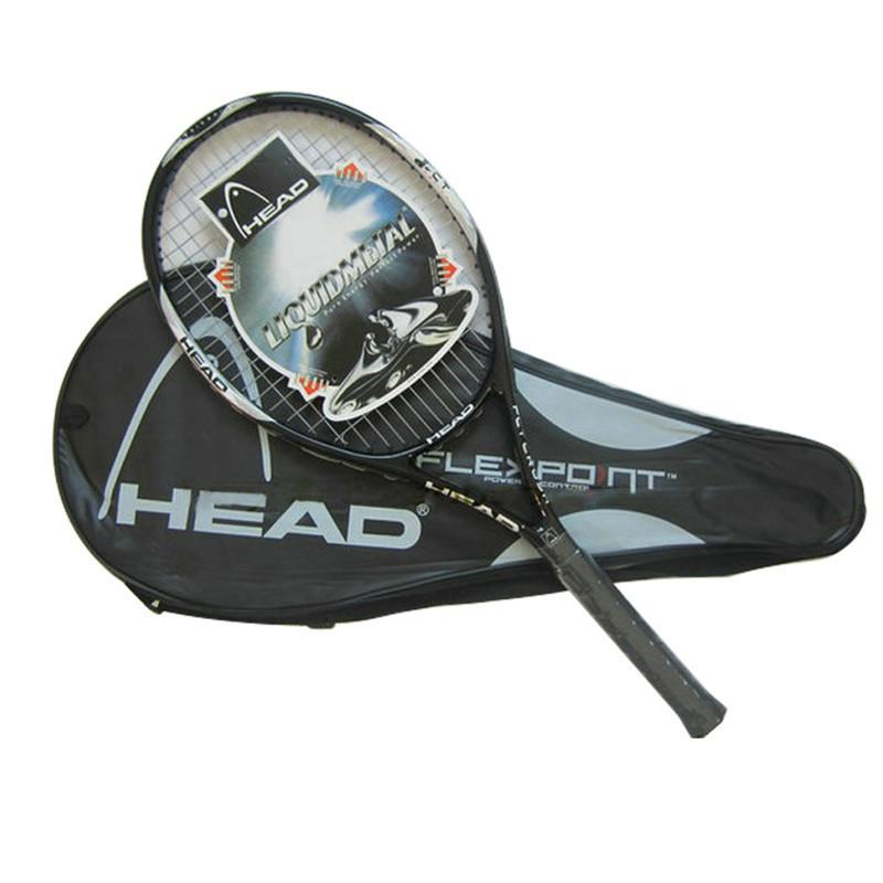 Tennis Racket Aluminium Alloy Tennis Racket Including Carry Case Lightweight Professional for Beginner Tennis Players Unisex