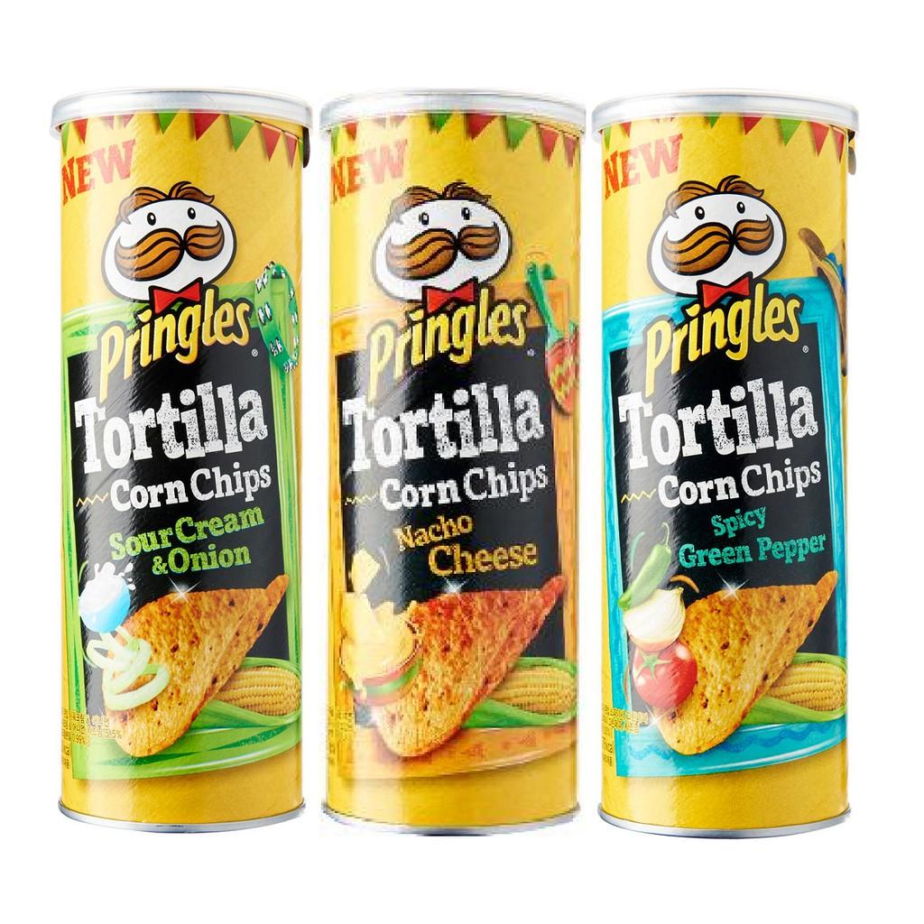Pringles 110g (Original, Hot & Spicy, Sour Cream, Smoky BBQ) boleh pilih! | Shopee Malaysia
