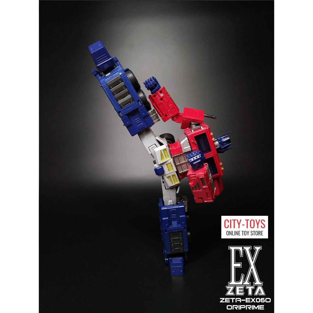 Pre-order Transformers Toys Zeta EX-06 G1 MP Scale Optimus Prime Action figure
