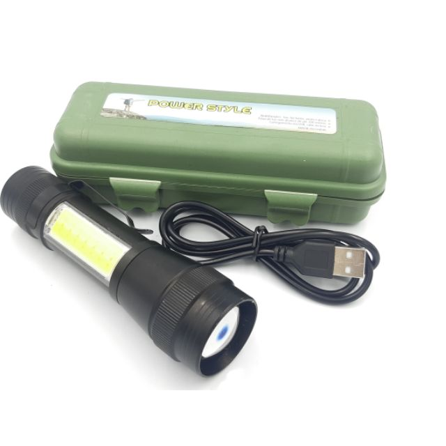 4 Mode USB Rechargeable High Power Mini LED Torchlight Torch light.