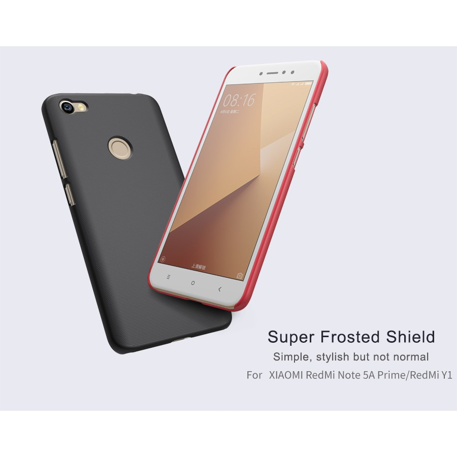 Xiaomi Redmi Note 4 case NILLKIN Super Frosted Shield Matte hard back cover case | Shopee