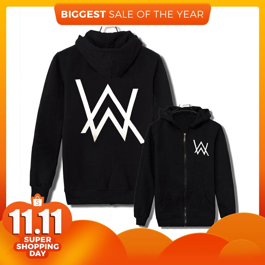 Readystock Alan Walker Hoodies Promotion Shopee Malaysia Jaket Sweater Dj Zipper