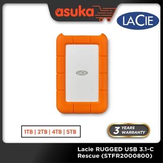 Lacie Rugged Thunderbolt Usb 3 1 Type C Portable Drive Portable Hard Drive External Hard Disk 2tb 4tb 5tb Shopee Malaysia