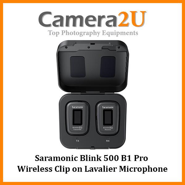 READY STOCK Saramonic Blink 500 Pro B1 Wireless Clip on Lavalier Microphone