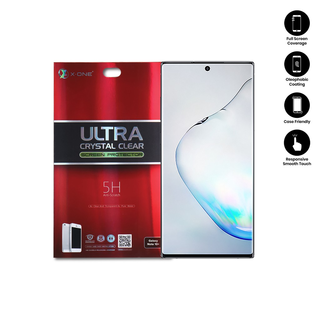 Samsung Galaxy Note 10 Plus X-One Ultra Crystal Clear Screen Protector