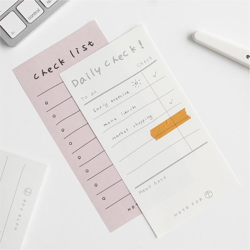 1PC Plant Leaf Sticky Note Memo Pad Note Planner Sticker Paper Stationery KK