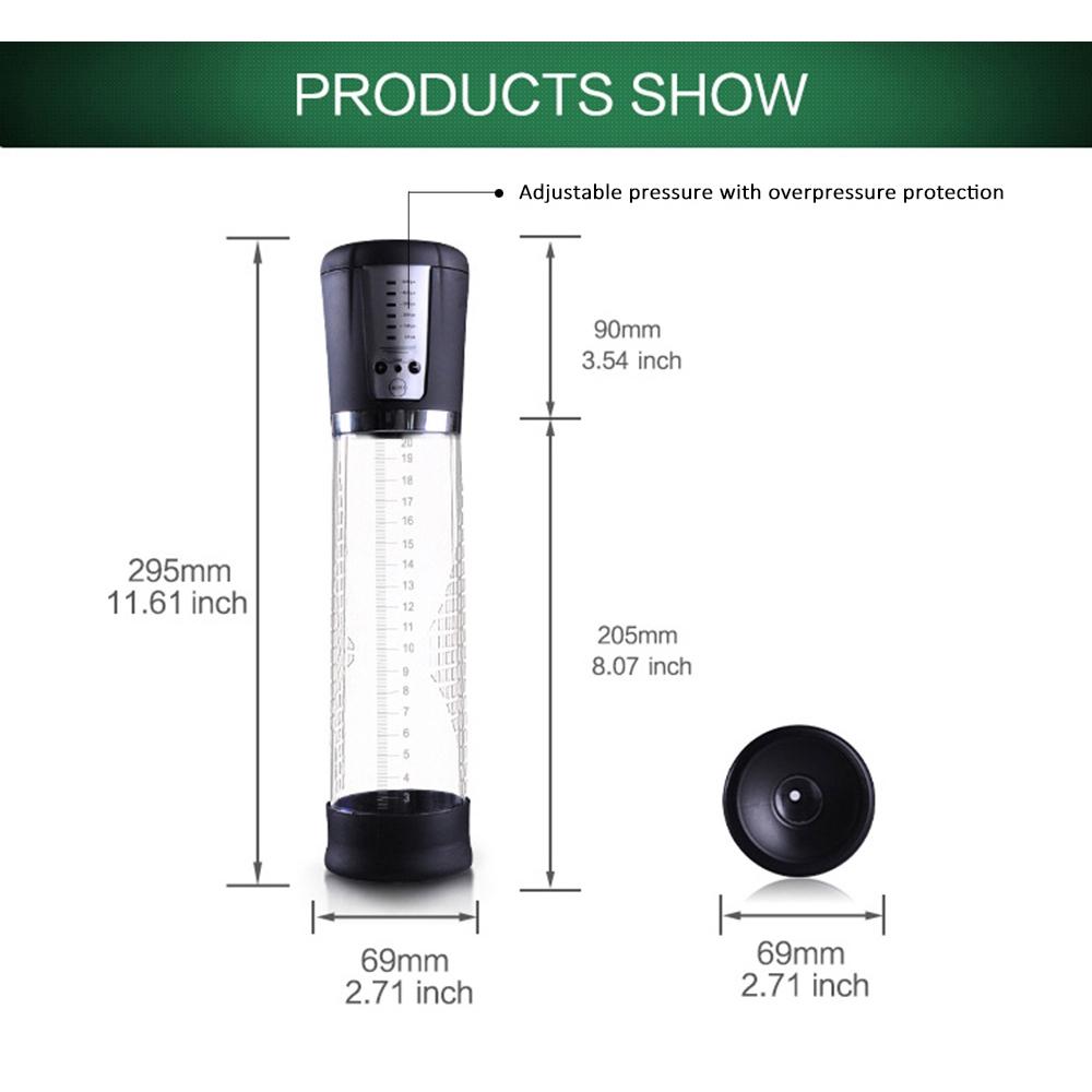 CANWIN Electric Penis Enlargement Pump Enlarge Tool Powerful Suction