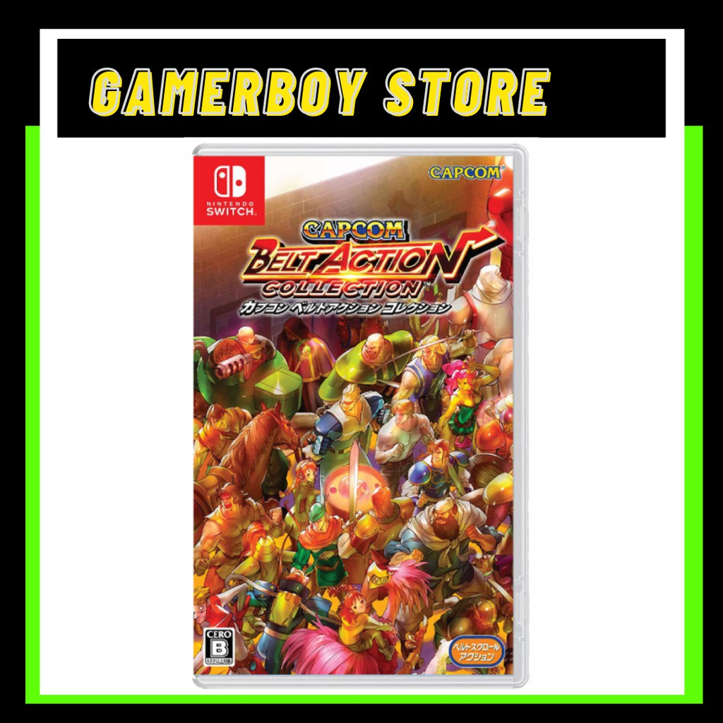 NINTENDO SWITCH CAPCOM BELT ACTION COLLECTION (PHYSICAL)