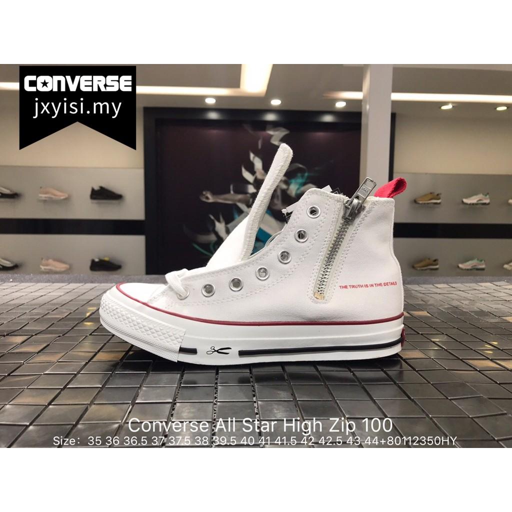 52435f8c8c03 Original CONVERSE ONE STAR OX SKATE Men flat shoes Women suede sneakers  purple