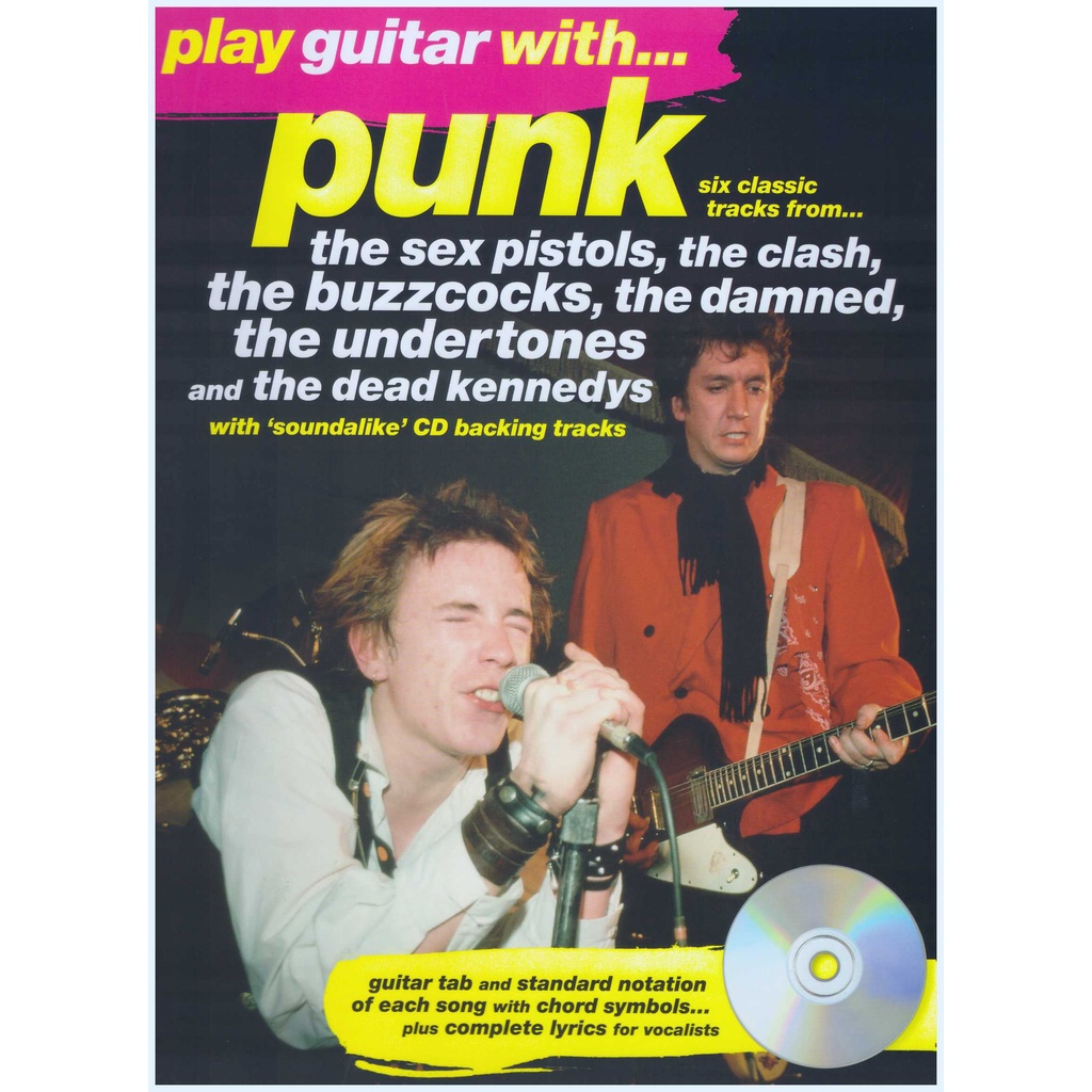 Play Guitar With... Punk  / Vocal Book / Voice Book / Guitar Book
