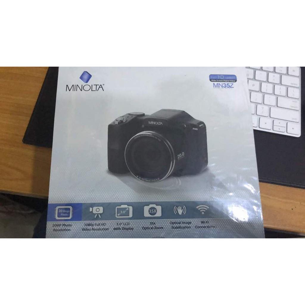 Minolta MN35Z 1080p 35x Zoom Wi-Fi Digital Camera