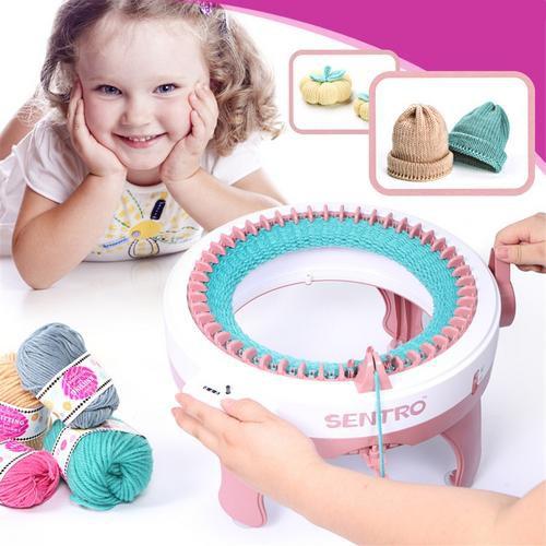 e853e08b8fa Smart Weaver Knitting Kit Machine for Kids