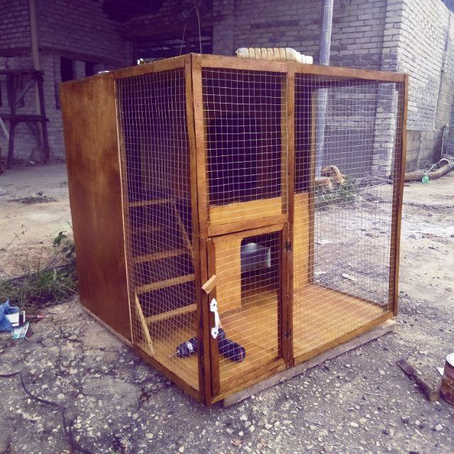 Rumah Kucing Custom Kayu Atau Besi