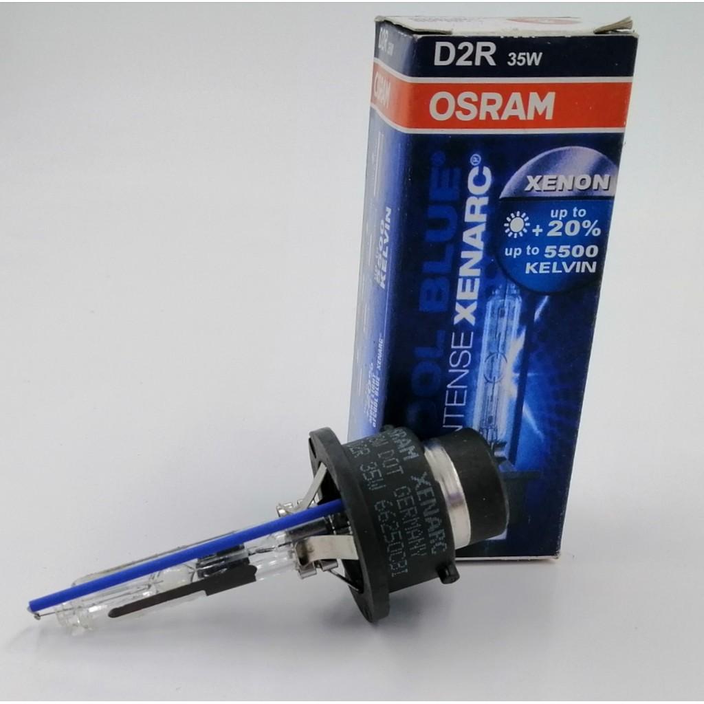 BBOD2R5500O - OSRAM D2R 5500K 35W HID BULB ( ORG ) COOL BLUE (+20%) CBI