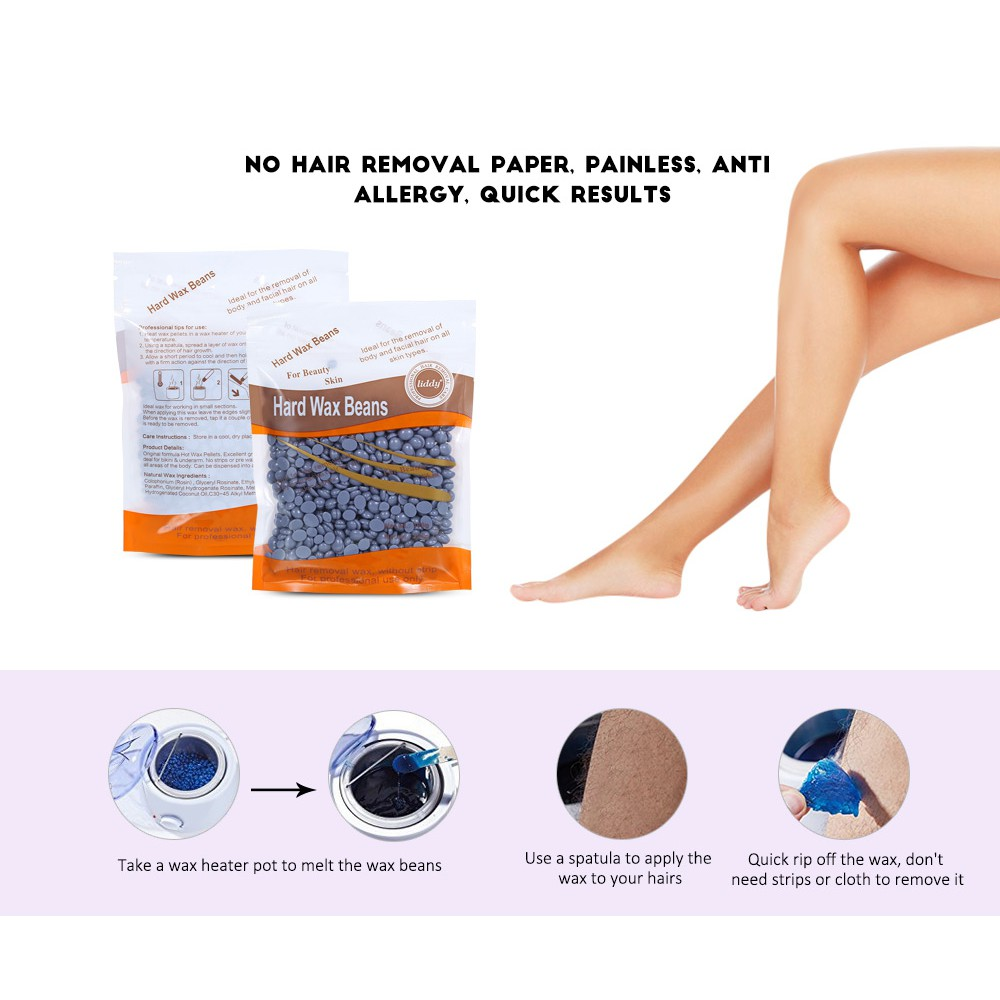 (CLEARANCE) 100g Depilatory Hair Epilation Removal Solid Wax Bean