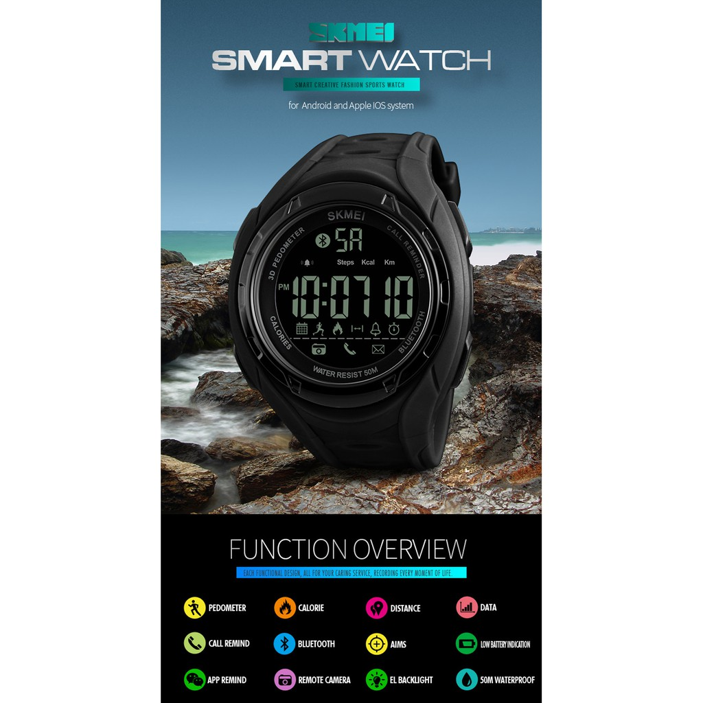 [LOCAL SELLER] SKMEI 1316 SMART WATCH