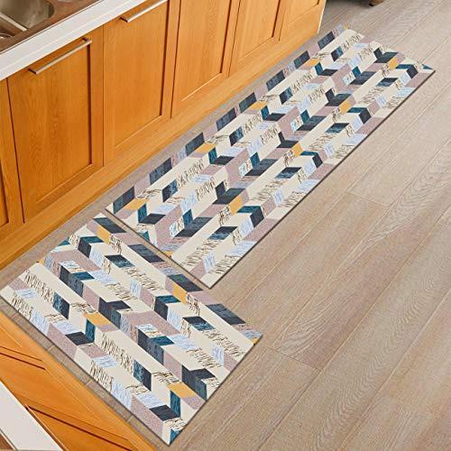 Geometric Pattern Floor Runner Rug