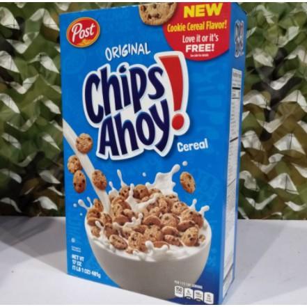 Post Original Chips Ahoy Original Cereal 481g