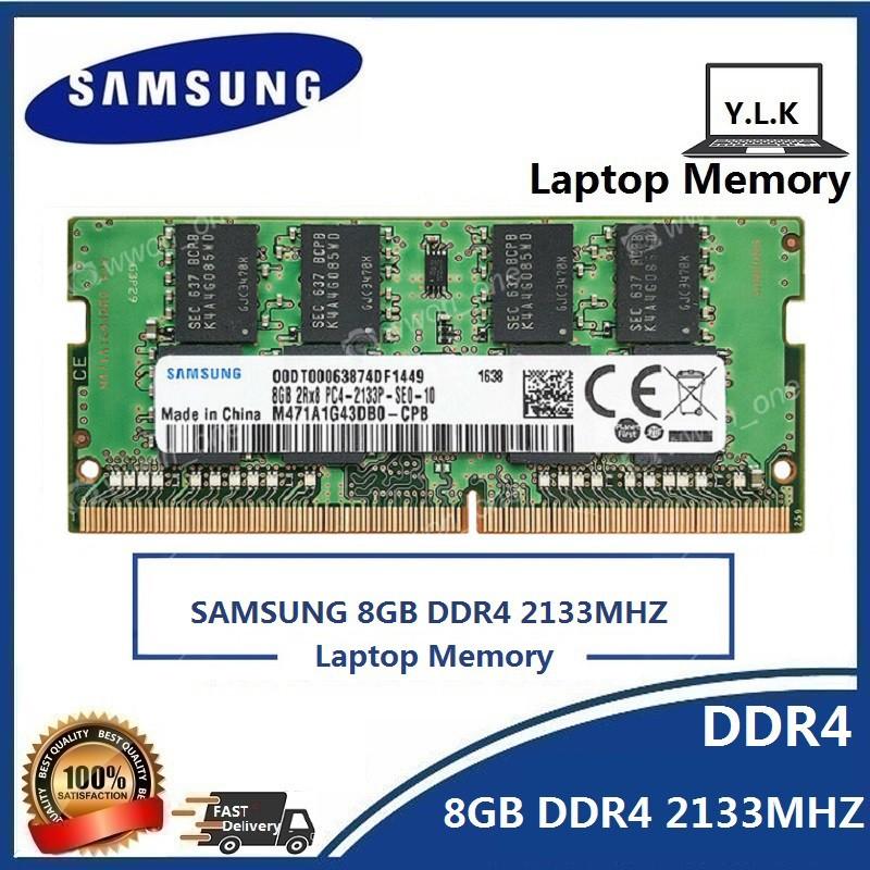 Micron 8GB 2x4GB 1RX16 PC4-19200 DDR4-2400T 2400MHz 260pin SoDimm Laptop Memory