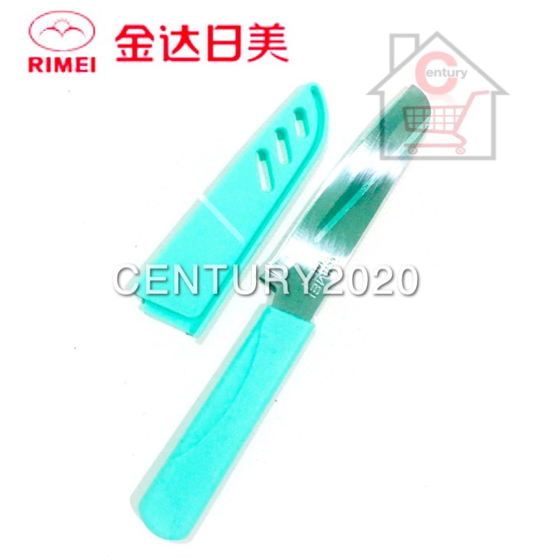 RIMEI Fruit Knife Kitchen Portable Fruit Knife With Cover Kitchen Tools 5158