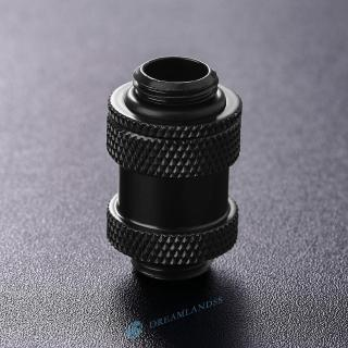 Silver Kipai G1//4 External Thread Connector for 10x16mm PC Water Cooling System