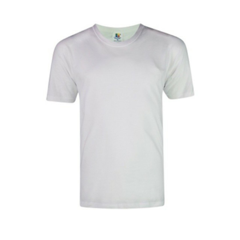 White Soft Style Round Neck Adult Plain Blank T Shirt Unisex Baju Putih Kosong Men Ladies Women Unisex T Shirt Shopee Malaysia