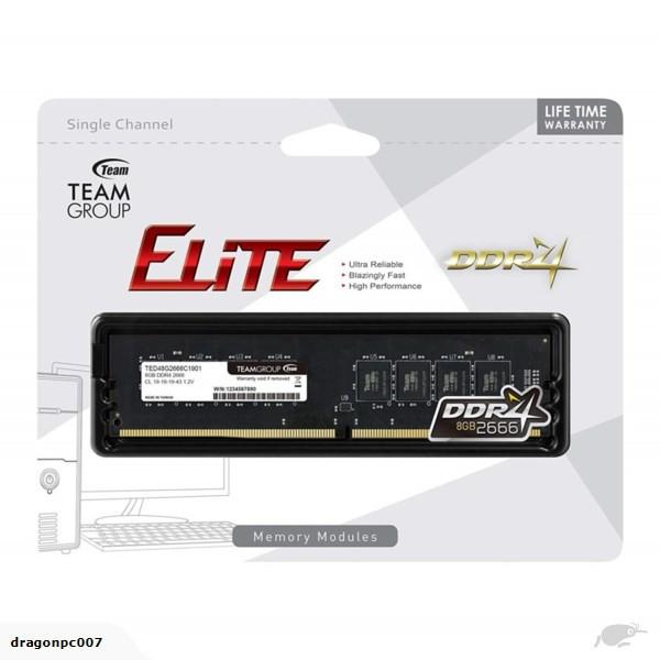 TEAM ELITE 4GB/8GB DDR4 2666MHZ DESKTOP RAM