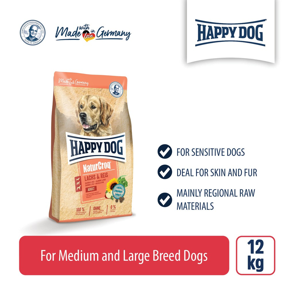 Happy Dog Premium Naturcroq Active (15kg)