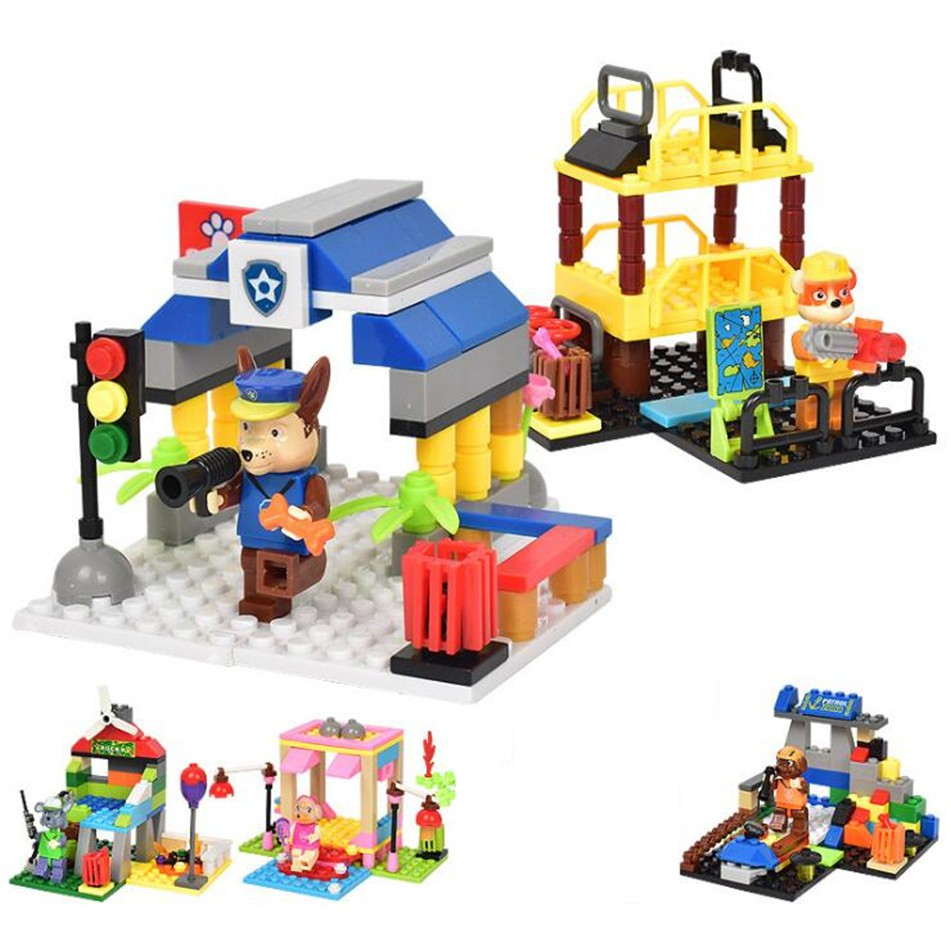 paw patrol Toys Kid DIY Lego Building BlocksBrick Set ...