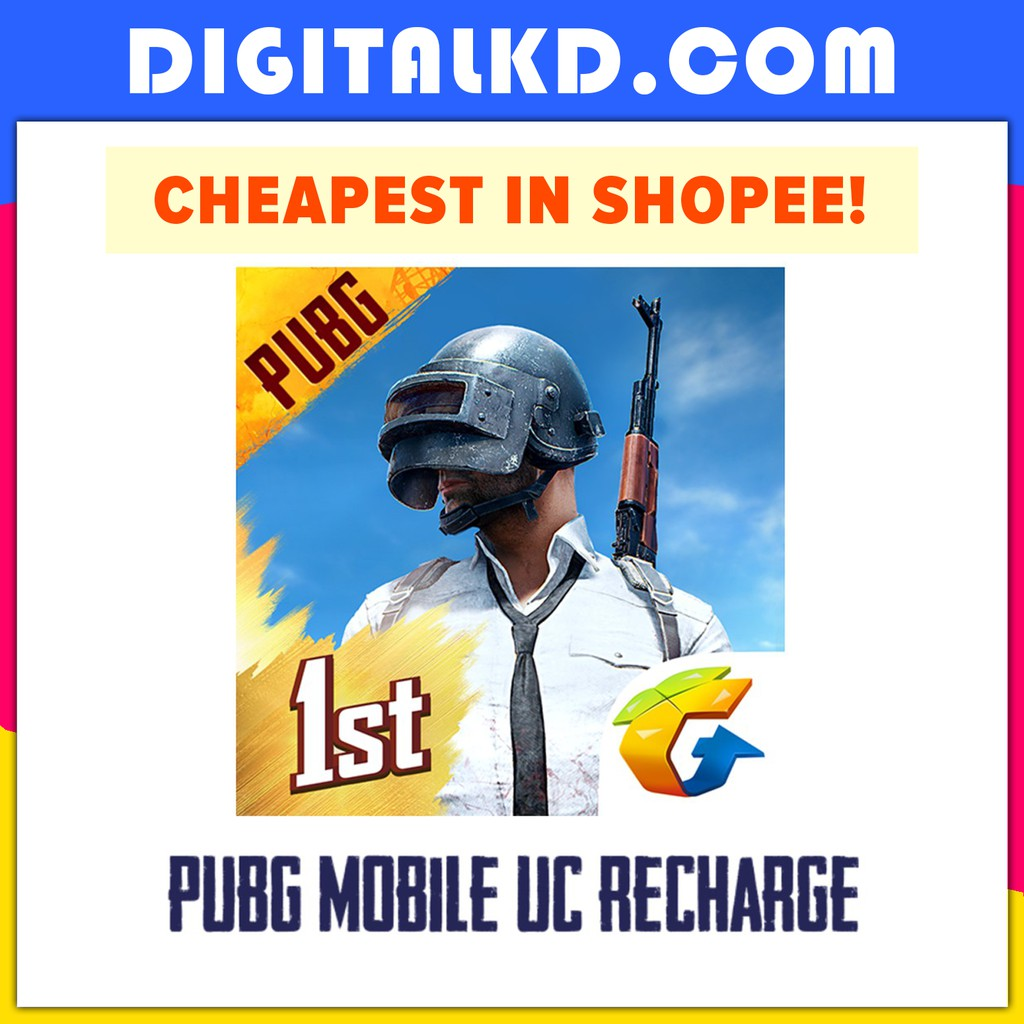 PUBG Mobile 1800/3850/8100 Unknown Cash UC Top Up Recharge (REQUIRE  PASSWORD) UC充值