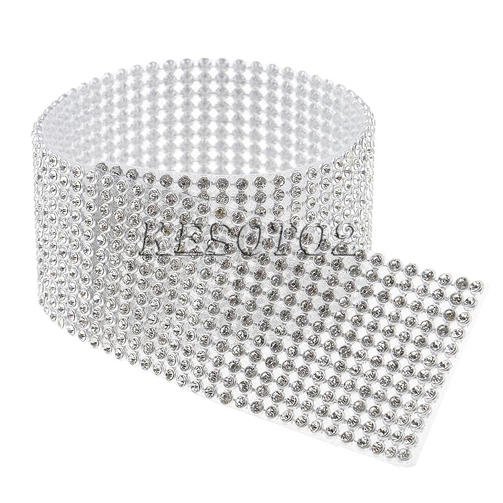 6//12 Rows Shiny Wedding Crystal Mesh Wrap Roll Sparkle Ribbon Arts Crafts