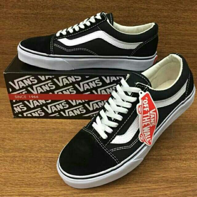 b754cba970 VANS 💥 Old Skool Classic Canvas Shoes Unisex Sneakers Casual Skate BMX