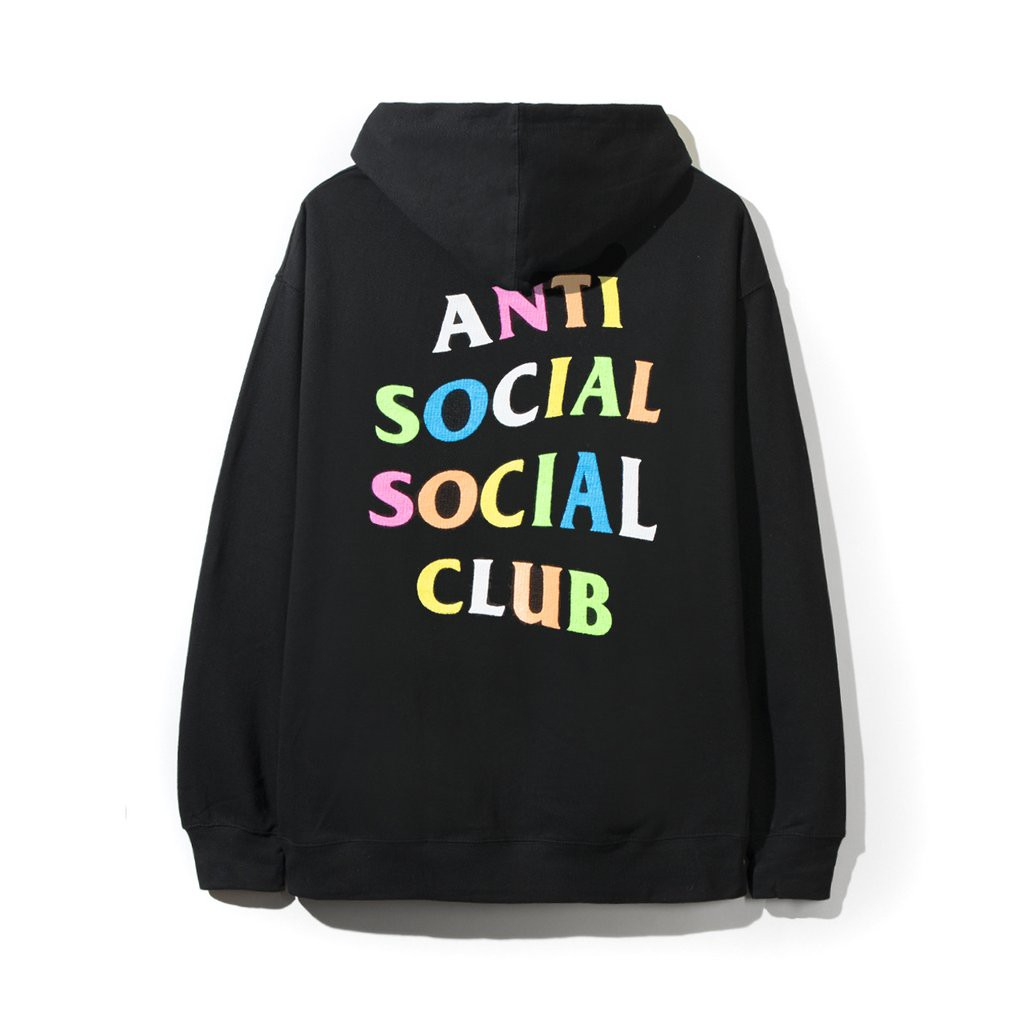 c445882fc Anti Social Social Club Hoodie ASSC SS 2019 Rainbow Hoodie Latest Design