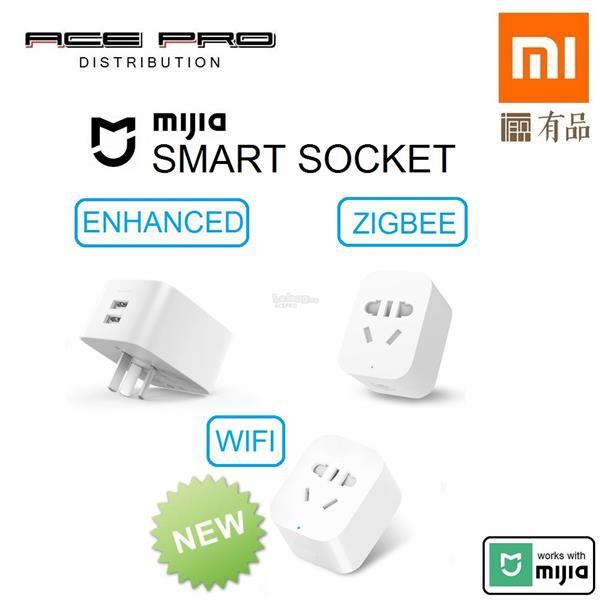2019 XIAOMI Mi Smart Socket WiFi & ZigBee - Remote Switch WiFi Time Plug