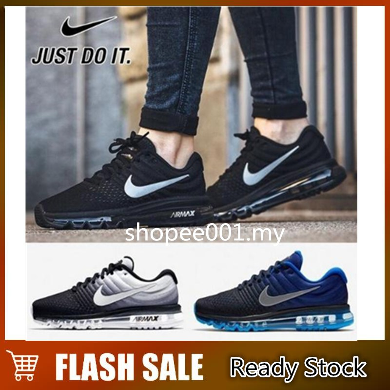 the latest 4f523 aca16 Original NIKE Air Max 2017 Outdoor Sports Running Shoes Men/Women Sneakers