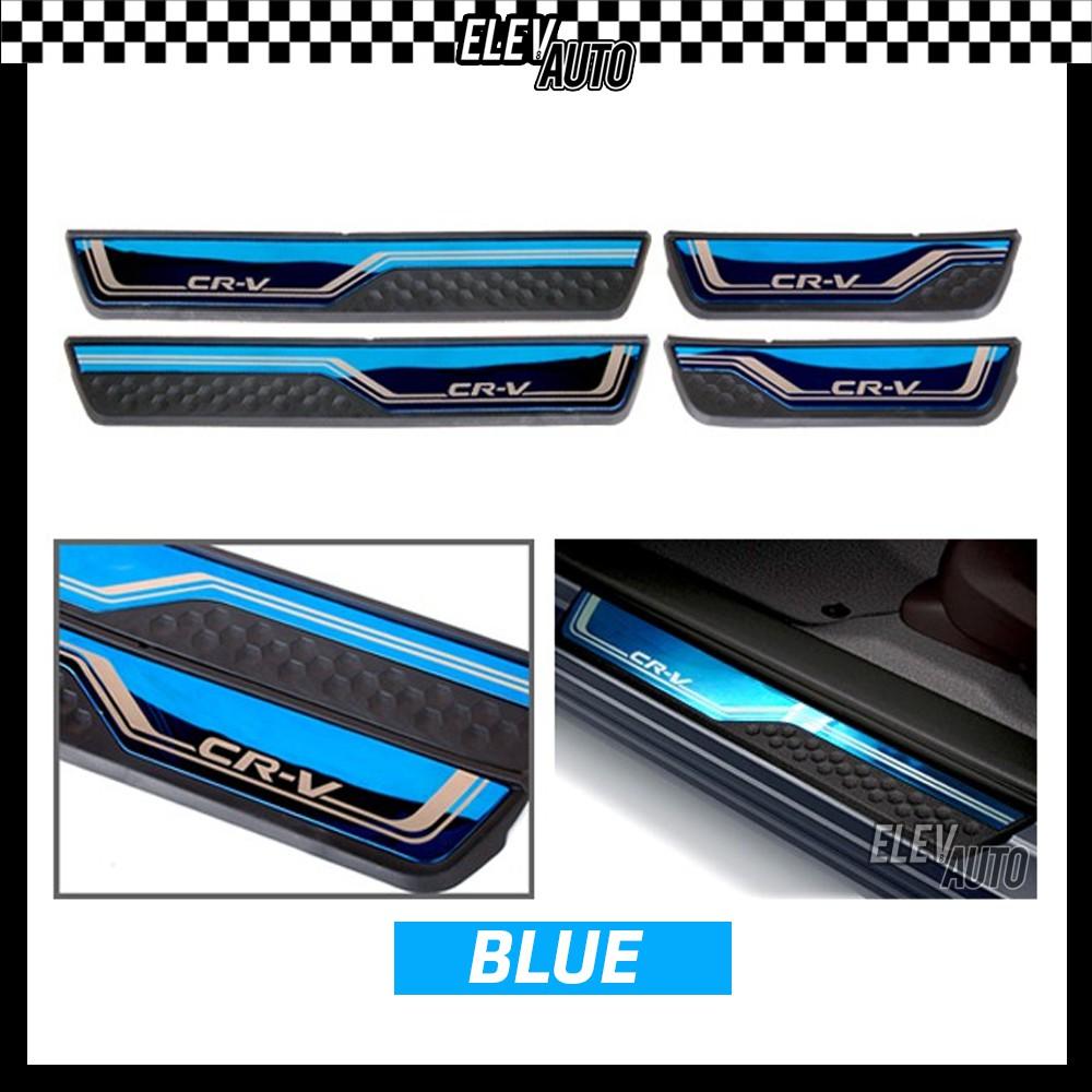 Honda CR-V CRV 2017-2021 Colorful Door Side Sill Step Plate
