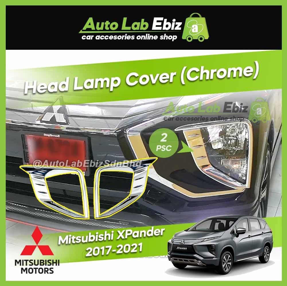 Mitsubishi XPander 2017-2021 Head Lamp Cover (Chrome) (2pcs/set)