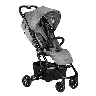 EasyWalker: MINI XS Stroller - SOHO GREY
