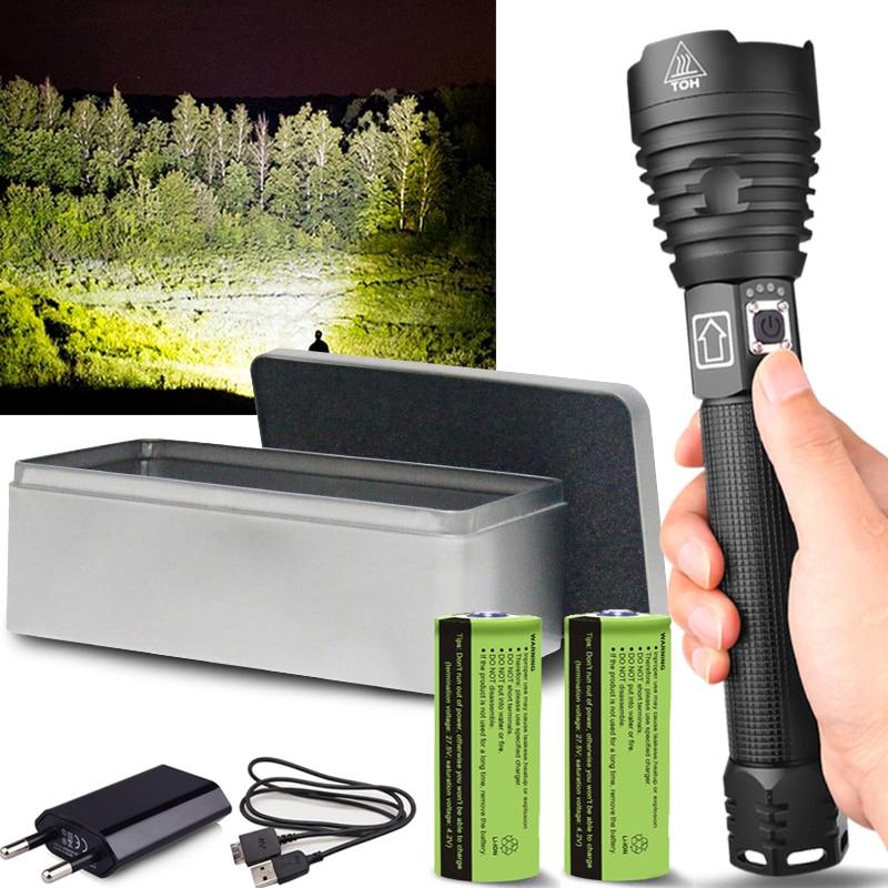 Bateria 18650 OE Q5 zoom LED Antorcha linterna recargable