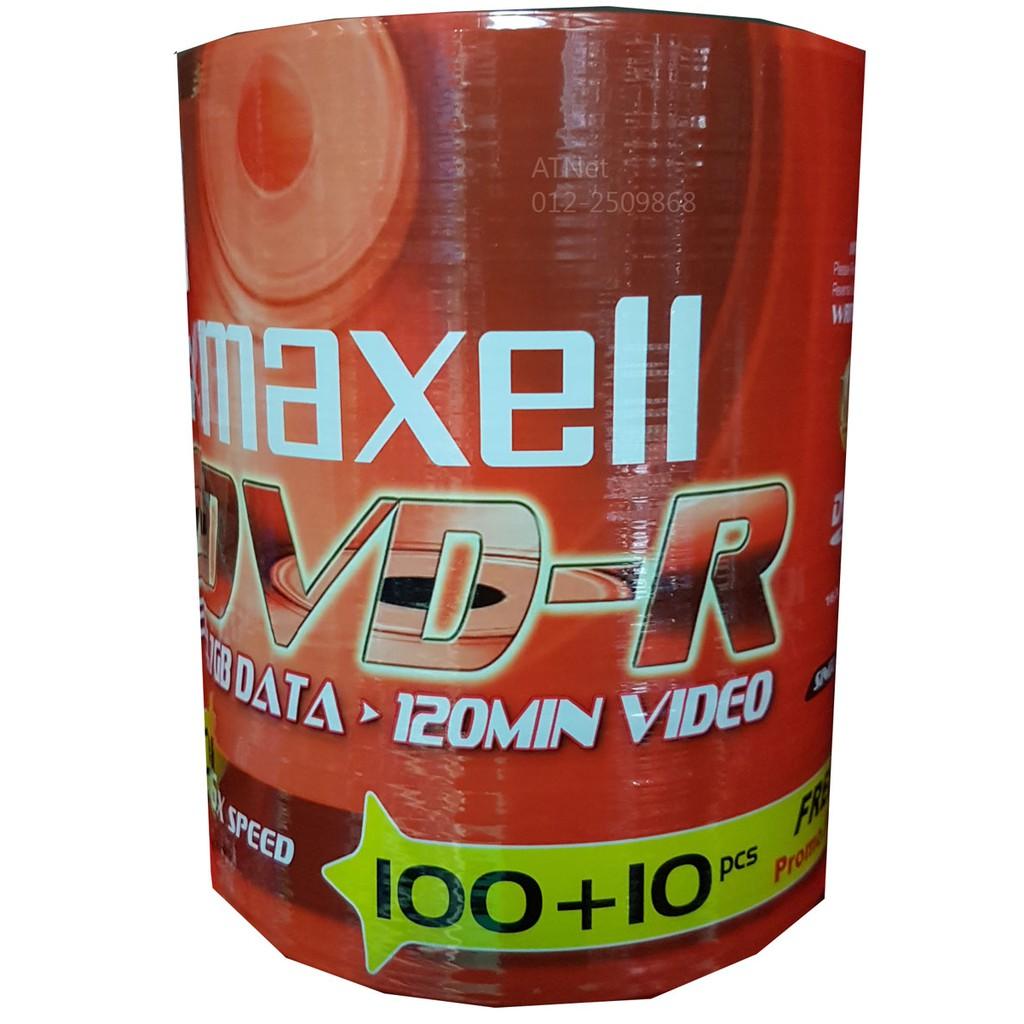 Elephant Dvd R 47gb 120min 16x Single Side Pack Of 50 Pcs Maxell Bulk 5 Shopee Malaysia