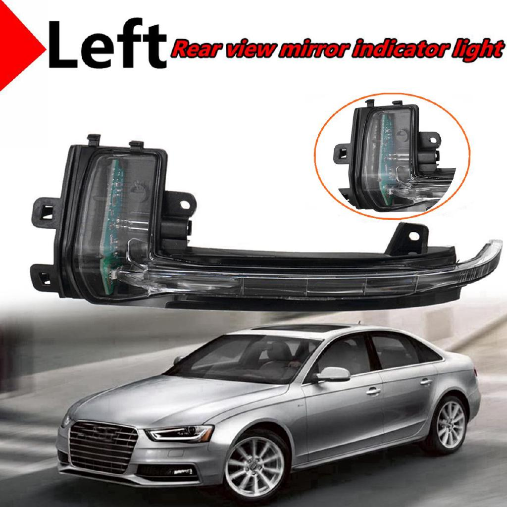 2x Side Wing Mirror Turn Signal Indicator Lamp LED Light For Audi A3 A4 A5 S5