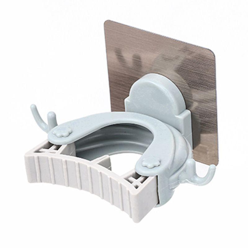 鹿角拖把夹 创意多功能无痕免打孔浴室壁挂扫把挂架 拖把挂架