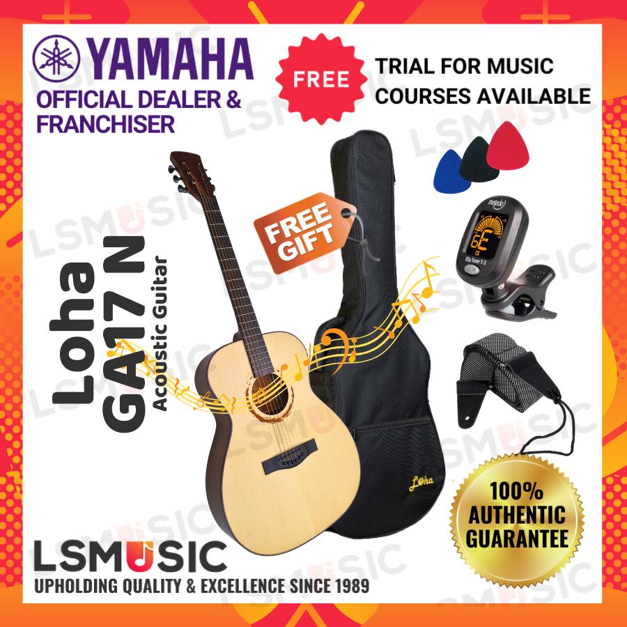 Loha GA17 Acoustic Guitar ( L.Luthier GA 17 )Color:Natural/Sunburst;Music instrument Gitar Akustik Promosi OFFER 11.11!!